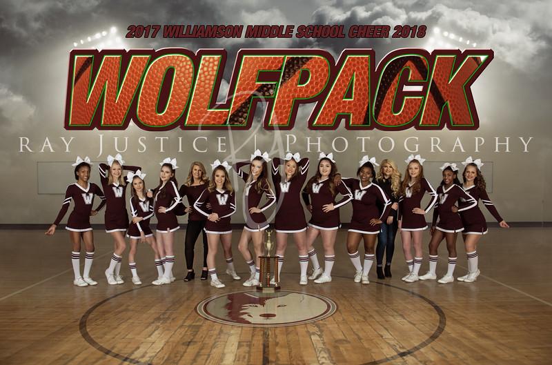 Williamson Middle School Cheer