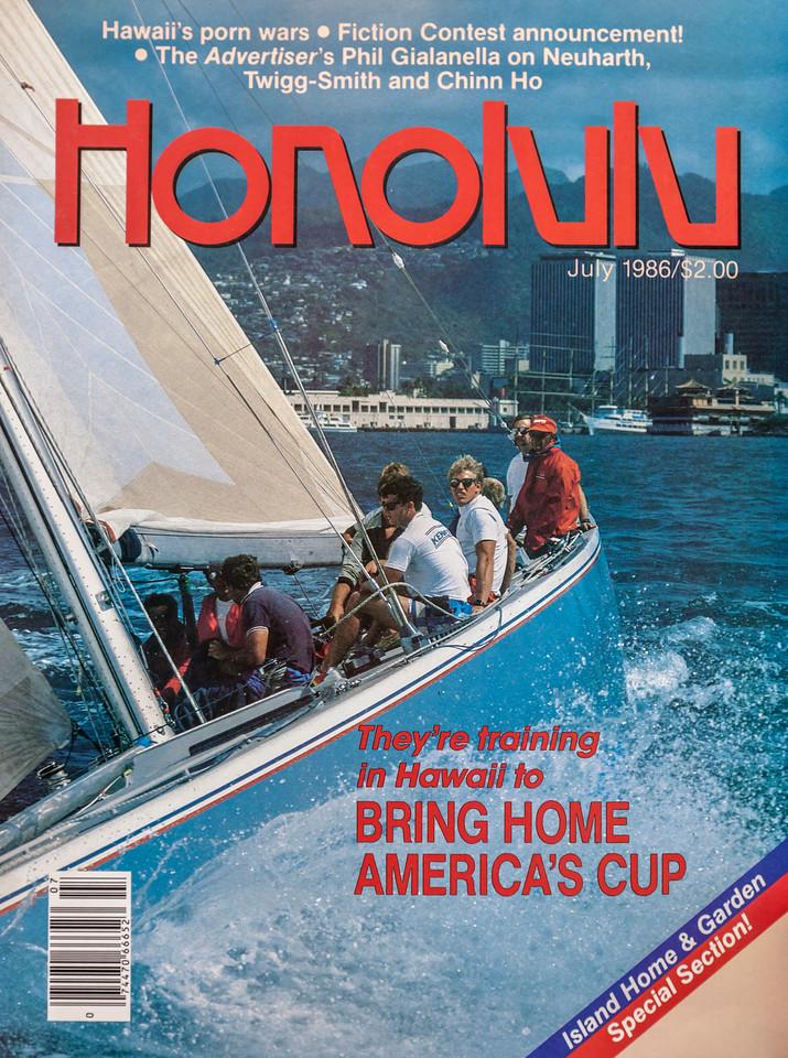 Honolulu Magazine America's Cup issue