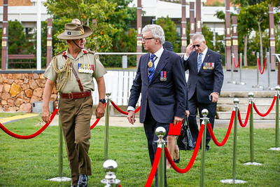 Australia Day Celebrations and Awards presentations at Jezzine Barracks, Townsville. 26/01/2018. Photo: Michael Chambers