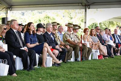 Australia Day Celebrations and Awards presentations at Jezzine Barracks, Townsville. 26/01/2018. Photo: Michael Chambers