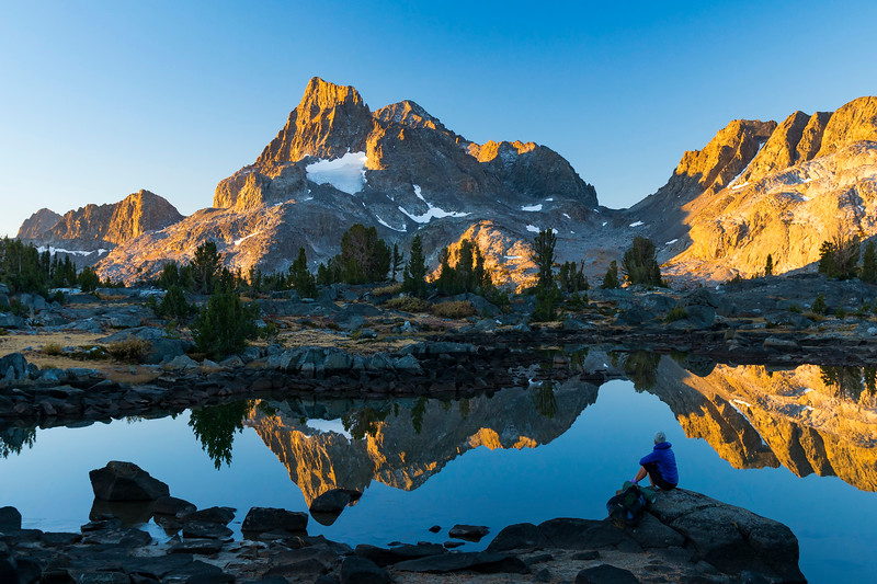 Hiking the Pacific Crest Trail, Sierra Nevada, California