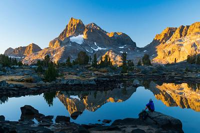 Hiking the Pacific Crest Trail, Sierra Nevada, California