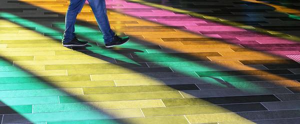 Montreal-Rainbow walking CG