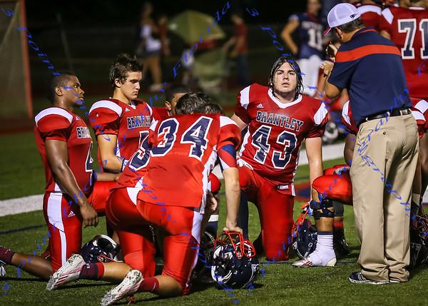 LBHS Varsity Football vs. Lyman - Sept 26, 2015