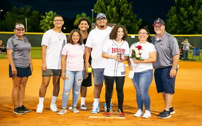 LBHS Softball Senior Night - Aug 12, 2020