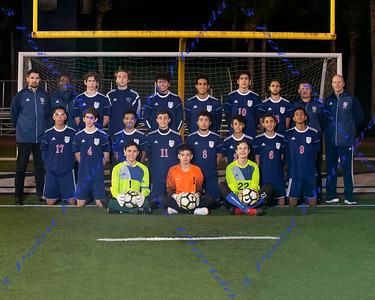 LBHS Varsity Boys Soccer  Team Photo 2018-2019