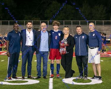 LBHS Boys Soccer Senior Night - Jan 15, 2020