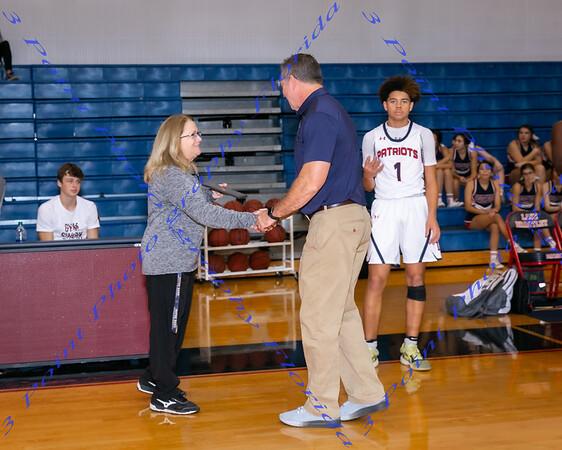 Coach Cuff 300th Win Award