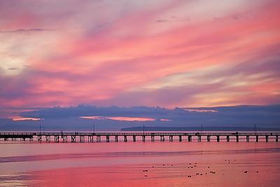 White Rock Pier at Sunset
