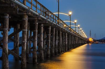 White Rock Pier at Twilight