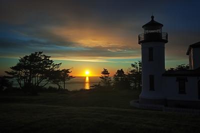 Admiralty Head Sunset
