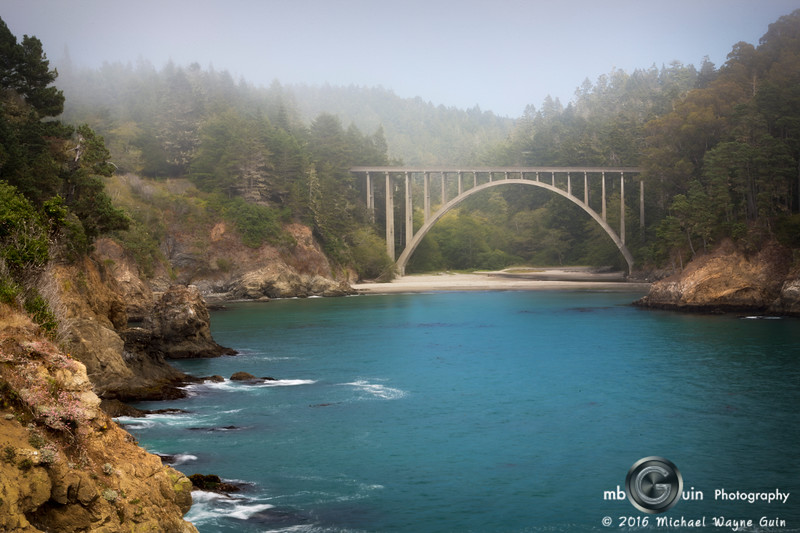 Russian Gulch Bridge