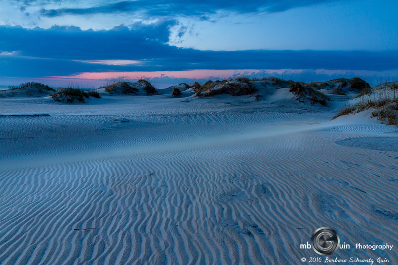 Sand Patterns at Dawn