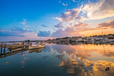 Peaceful Harbor, Boothbay Harbor