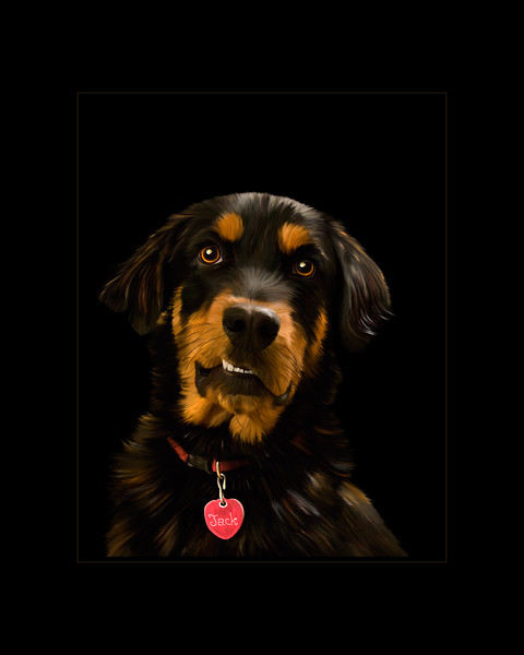 Digital Art of Dog