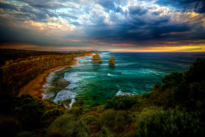 South East of the Twelve Apostles on the Great Ocean Road