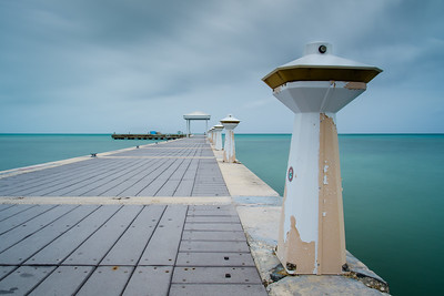 Rum Point Dock in Grand Cayman