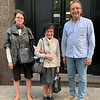 New York. Oct. 1, 2020. Alexandra Bellak, Elizabeth Leszczynska Bellak (formerly Ariana Spiegel), and Vasyl Lopukh
