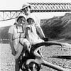 Zalishchyky. Dnister.  Sunny Beach. 1935.  Renia, Roza and Ariana (Elizabeth)