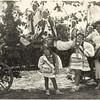 Zalishchyky 1936. Ariana (Elizabeth), Renia, and Roza during the grape harvest festival