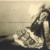 Zalishchyky. 1936.  Rania during the grape harvest festival
