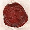 Збільшене зображення сургучевої печатки
