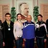 558. Тренер Ярослав Ушій з вихованцями – чемпіонами першості з настільного тенісу