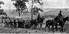 571. Понтонний батальйон австро-угорської армії на марші