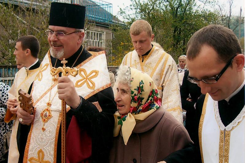 534. Владика Тарас Сеньків, пані Ольга Плеш.