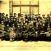 326. Учасники кооперативних курсів у Львові, стоїть на сходах Д. Капчак, 1944 рік.