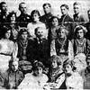 684. Учасники відзначення свята Т. Шевченка, 1920 рік.