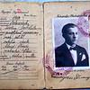 816. Паспорт Е.міляна Іванищука з печаткою повітового староства в Заліщиках.
