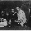 """491. Марія Українець, мати """"Орлика"""" з юначками ОУН, 1941 рік."""