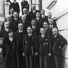 768. Й. Кжижановський з членами міської ради, 1935 рік