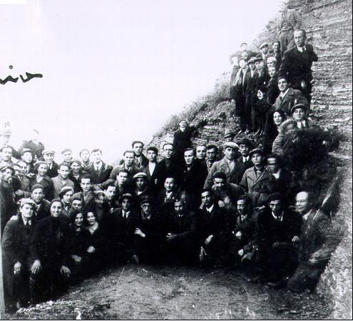 72. Єврейська молодь на березі Дністра, 15 грудня 1934 року
