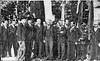 726. Радні міста Заліщик, в цетрі бургомістр Стефан Гебда, вересень 1936 року