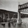 603. Стрільці на позиціях.  Gesprengte Eisenbahnbrücke bei Zaleszczyki