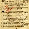 601. Картка реєстраці військовослужбовця Клейчука М. М., 13.01.1945 року