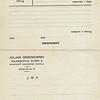 """815. Бланк замовлення товару (експорт овочів і меду"""" 1933 рік."""