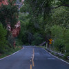 This is another photograph of State Route 87A through Oak Creek Canyon and Sedona.