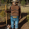 "This Photograph is of the spokes person for preventing forest fires. He is Smokey the Bear. He always stated "" Only You Can Prevent Forest Fires"". This statue can be found by the Tusayan Ranger Station in the Kaibab National Forest by the Grand Canyon in Arizona."