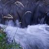 The photograph is one of Oak Creek by Sedona, Arizona.