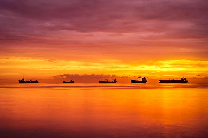 Ships at Bay