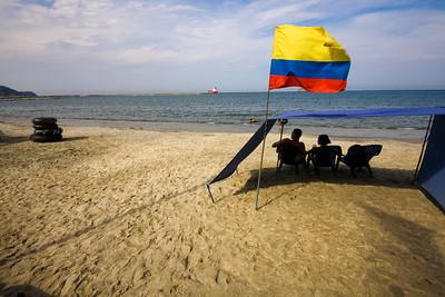 Relax on the beach (Santa Marta)
