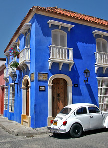 On the Streets of Cartagena - 2 (Colonial House)