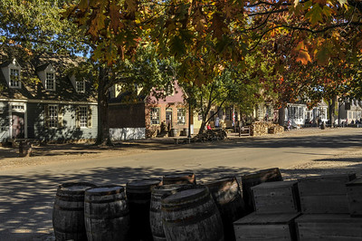 Colonial Williamsburg Scene