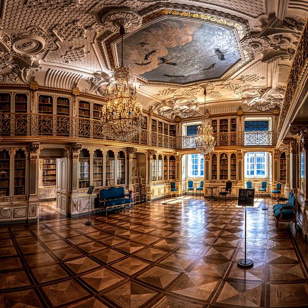 Christiansborg Palace Library, Copenhagen