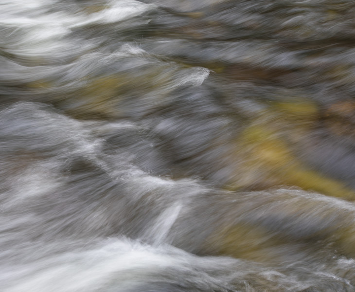 Merced River Flow Abstract
