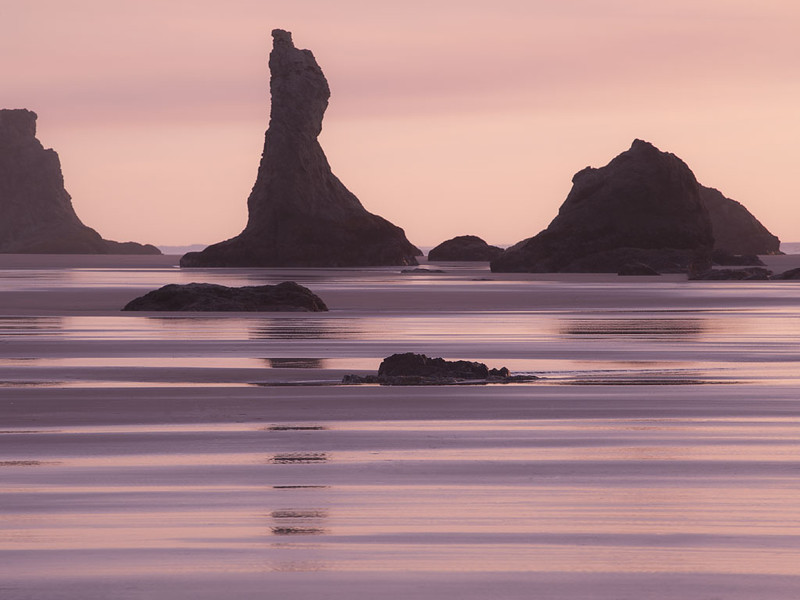 Bandon Beach , Oregon