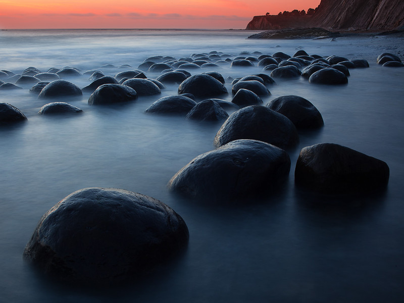 Bowling Ball Beach, CA - North View